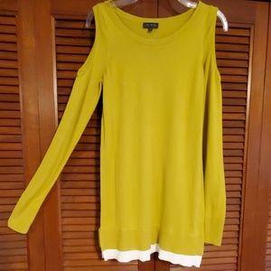 NWOT The Limited cold shoulder sweater